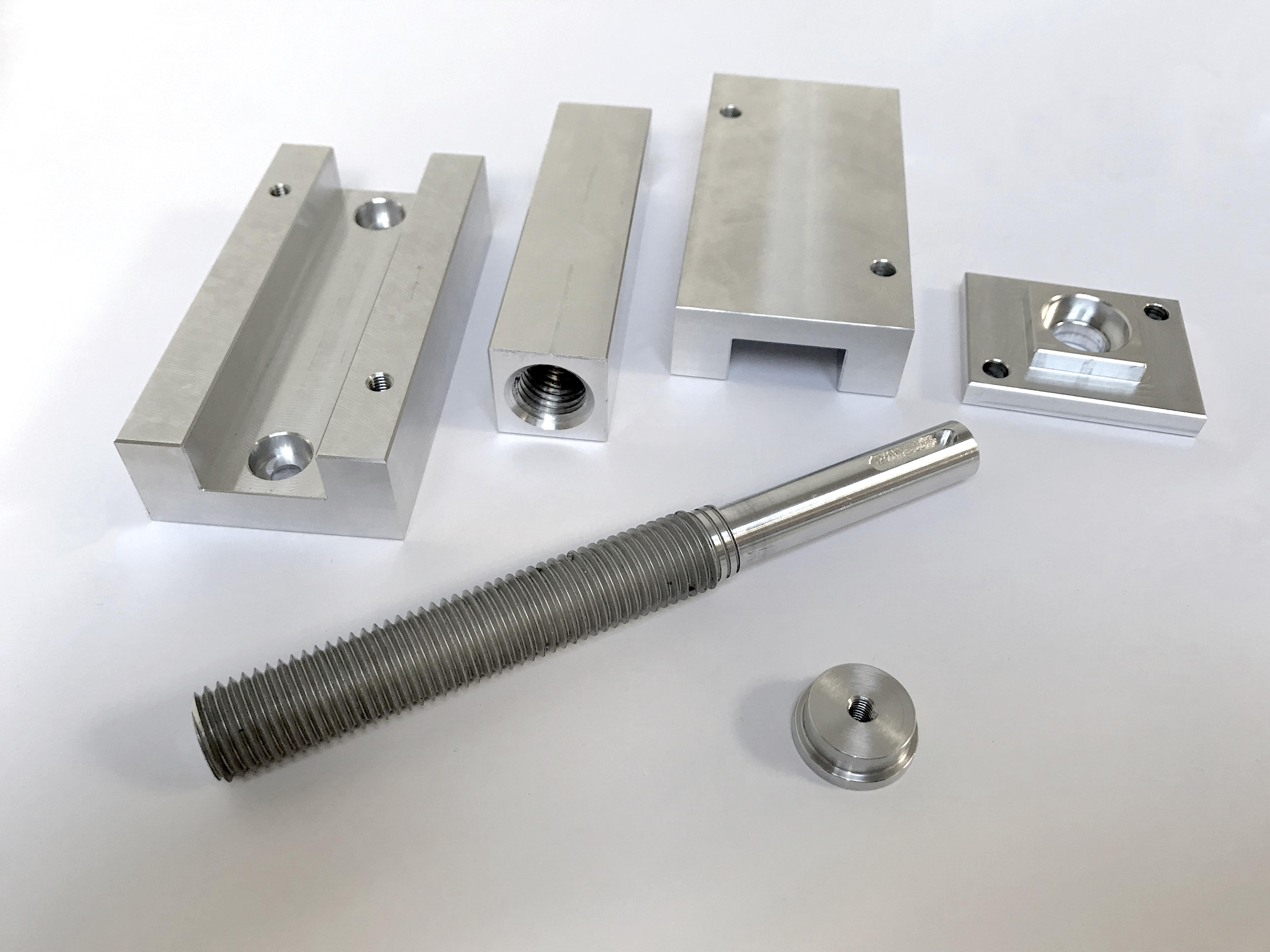 Étau en aluminium